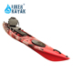 Low price pedal plastic fishing boats and kayaks for sale