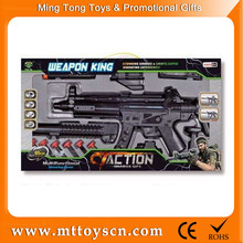 65cm good quality mounting by yourself sniper plastic toy gun safe