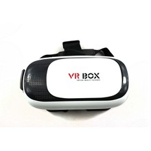 Buy single items virtual reality 3d Helmet VR glasses Remote, ABS plastic Tripod vr box for iPhone IOS Android Smart Phone