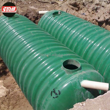 Factory Supply FRP Septic Tank System Cost High Strength Grp Safety Tank