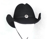 wholesale 100% wool felt hat handsome mexican cowboy hats