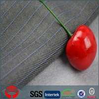 Wholesale polyester rayon blended fabric/poly fabric fabric for business office suit/office suiting