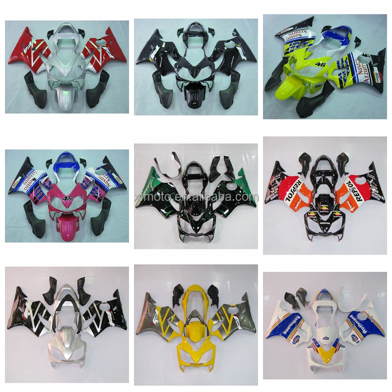 Injection Molded ABS Fairing Kit Fit For Honda CBR600F4I CBR 600 F4I 01 02 03 9B