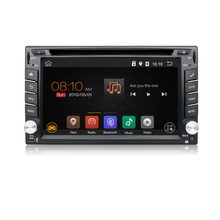 Hot selling android6.0 system 6.2inch capacitive screen 2din universal with gps bluetooth internet double din car dvd