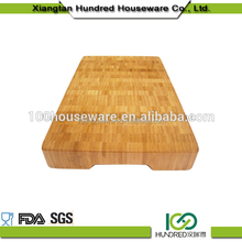 Thick bamboo cutting board kitchen wooden chopping block