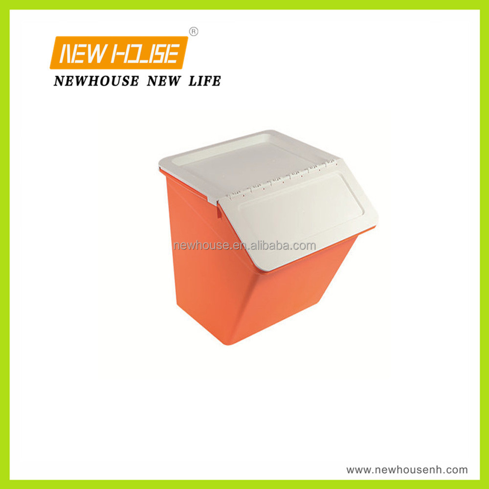 Multi-function Plastic Storage Bin with Lid