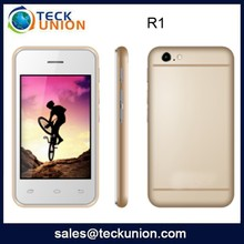 R1 cheap mobiles with whatsapp dual card support FM touch screen phone