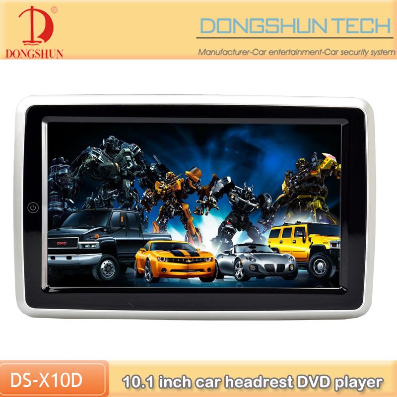 wholesale price car full touch screen headrest DVD player supports wireless connect with android and iphone