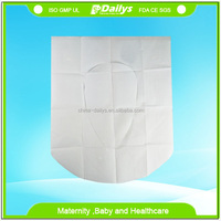Disposable custom made toilet seat cover