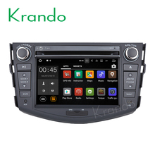 "Krando Android 6.0 7"" car radio for toyota rav4 2006-2012 navigation dvd multimedia system WIFI Playstore DAB+ 2G RAM KD-TR709"
