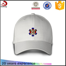 cheap custom baseball hats white cap embroidery polo made in china