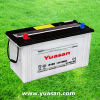 Yuasan Manufacturing Rechargeable Lead Acid Dry Cell N100 Battery -12V 100AH