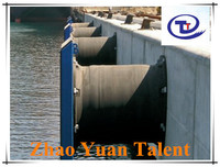 Two cells one panel YGCH super cell rubber fender in horizontal/vertical form