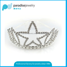 2016 wedding star tiara crown best seller for bridal