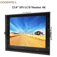 "High Quality Professional 23.8""IPS LCD Monitor 4K widely used for TV Broadcasting ,CCTV Monitoring ,Movies Making"
