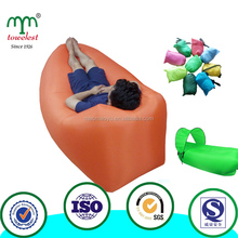 Fast Inflating air Sofa Sleeping air bag Inflatable Lounger Chair for outdoor,