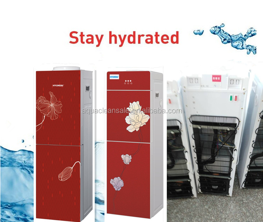 plastic easy install Office room electric hot and cold water dispenser 220v