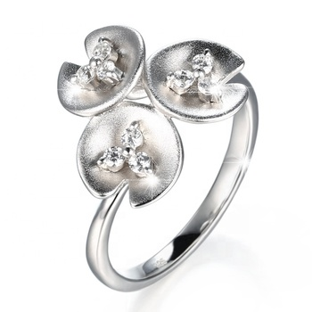 SR00877 Valentine Day Gifts Fine Fashion Jewelry 2019 Flower Ring