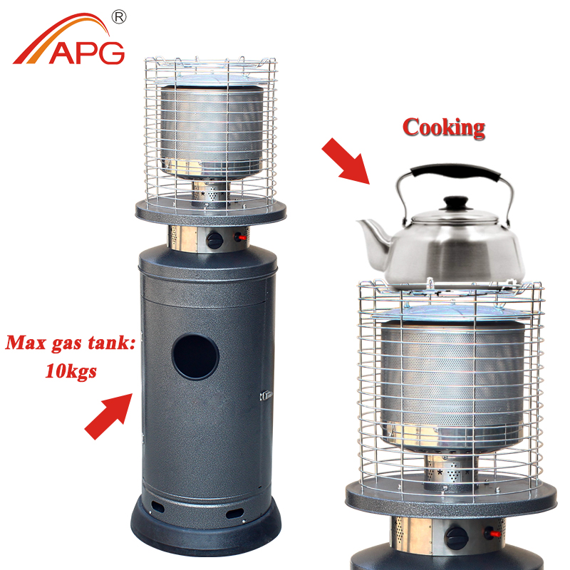 APG New Outdoor Patio Gas Heater