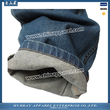 cheap price men plain color blue denim jeans ecofriendly