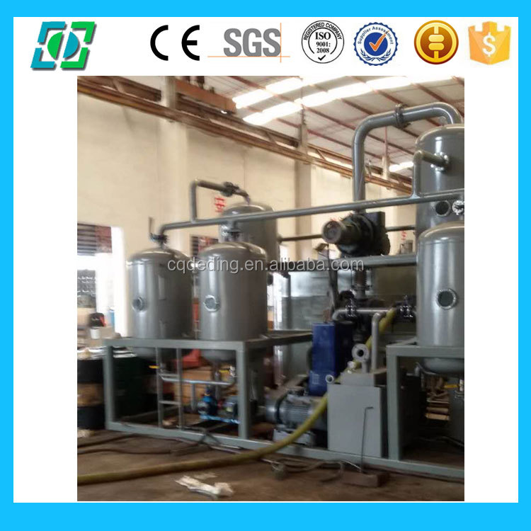 Vacuum Distillation Used Oil Recycling Machine To base oil