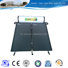 Three years warranty roof system solar panel for home use split pressurized solar water heater