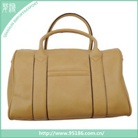 hot sale high quality fashion pu lady handbag travelling shoulder bag