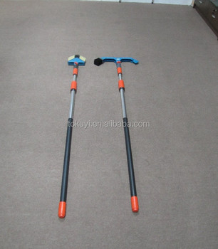high quality long handle telescopic gutter cleaning brush