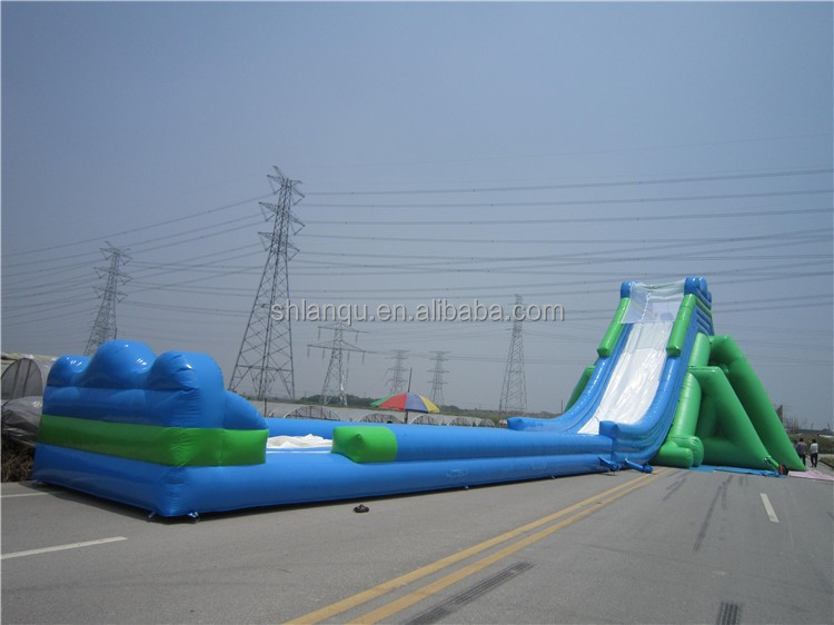 New style commercial giant jumbo water slide inflatable for adult