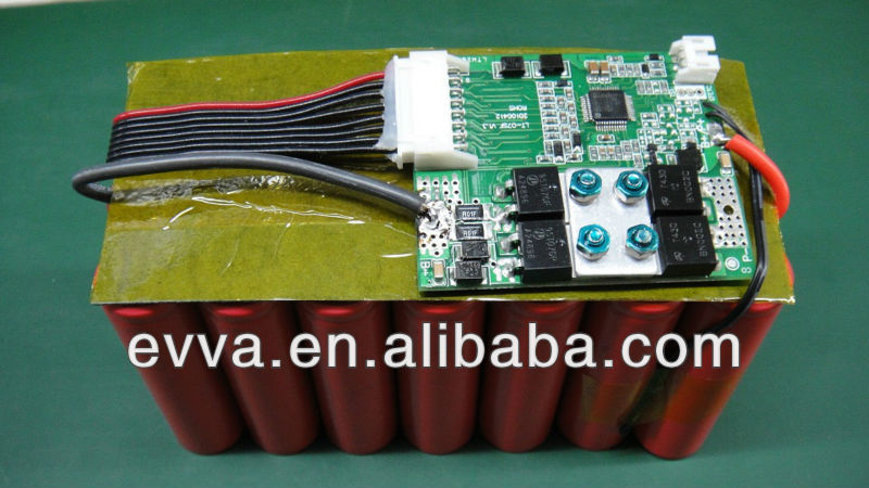 Li-ion 28V electric bike BMS 7s 16A 94V0 circuit board