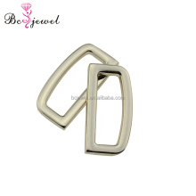 Wholesale High Quality Flat Alloy Metal Accessories D Ring for Handbags Dog Leash Horse Strap Collar Manfacturer