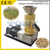 Family use flat die pellet mill machine to make sawdust biofuel pellets