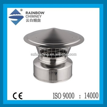 CE Chimney Cowl and Stove stainless steel Spigot lock Chimney Cap