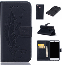 Universal Pouch PU Smart Phone Wallet Style Leather Case For Huawei P9 Lite