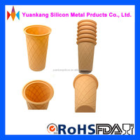 Cheap price wholesale soft silicone cup for ice cream