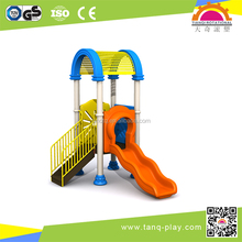 Simple Slide Plastic Kids Play Center Outdoor Playground Playset