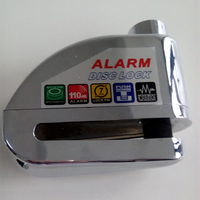 high quality zinc alloy alam lock,remote motorcycle alarm lock