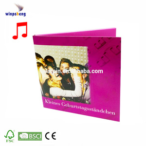Happy Birthday Musical Card With Customized Message