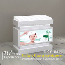 First class MDF and acrylic made cosmetic display- factory direct sale makeup display stand