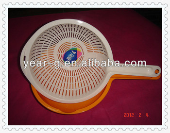 plastic vegetable strainer