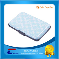 Low cost clear plastic blocking card holders made in China