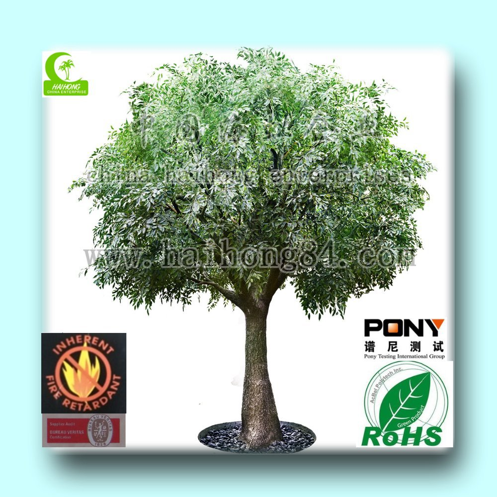 wholesale 3-10m Artificial big ficus tree, artificial tree, artificial plants decoraion