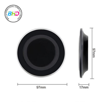 2017 Best Selling Portable Wireless Charger Qi Wireless Phone Charger, Wireless Charging for Samsung for Iphone 8