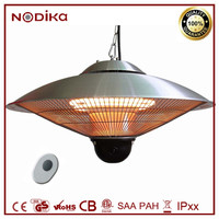 Electric garage heaters 220v Ceiling mounted infrared heater with Remote controller for For Indoor/Outdoor Use