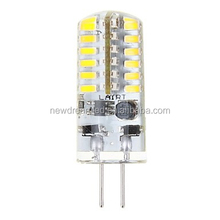 3w g4 led bulb 12V AC/DC 48 pieces smd 3014 silicone for home use