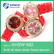 2014 Promotion gifts fashion diamond watch offer free samples for girls