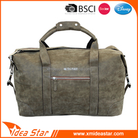 Wholesale price leisure abrasion soft fashion holdall pu smart travel bag