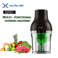 Whole handle Production Line 110v 220v Sausage Making Machine plastic Housing Material Meat Grinder with carrot juicer