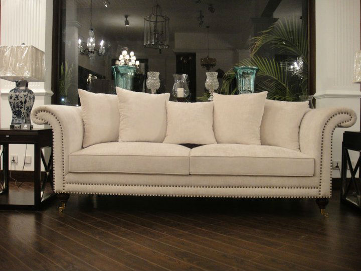 Galleria Designer 3 Seater Classic/Contemporary Sofa Tufted