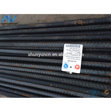 Deformed reinforcing steel rebar prices construction steel rod bar